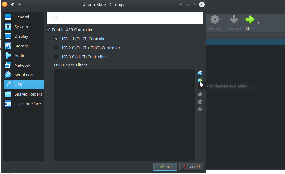 VirtualBox - USB devices not detected